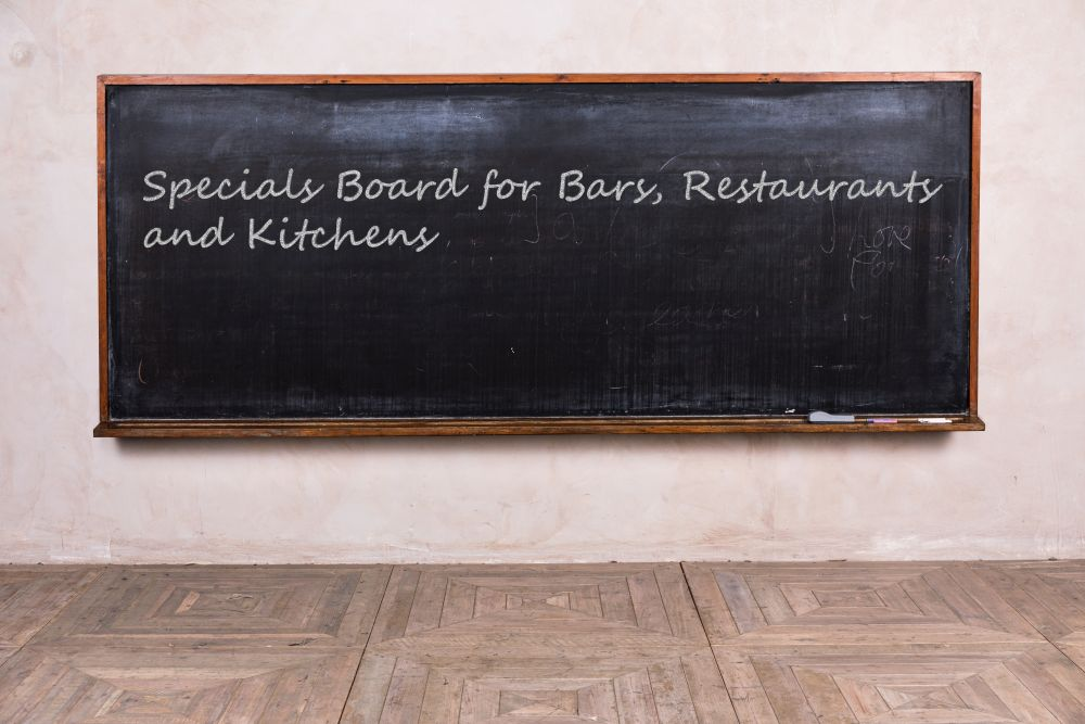 vintage school chalk board