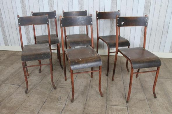 rare stacking chairs