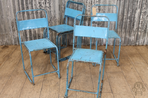 SC410 Blue metal stacking chairs1.jpg