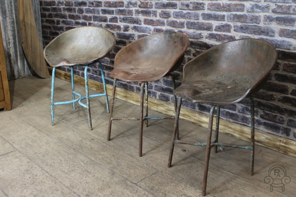 Vintage Tractor Seat Stool Chair