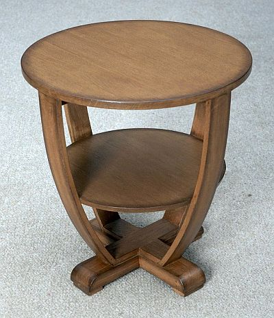 art deco side table