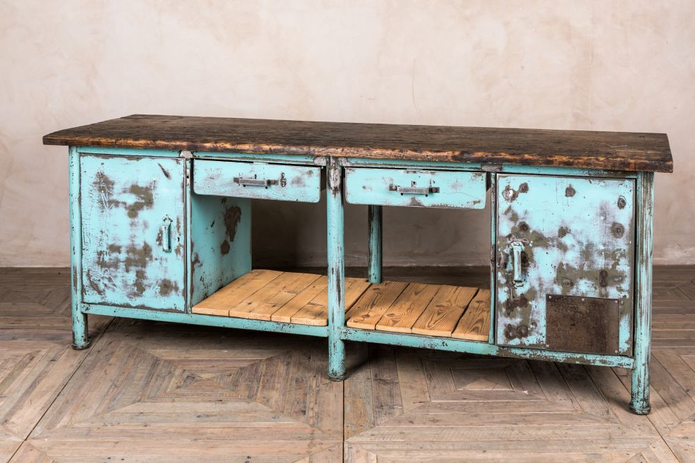 industrial buffet sideboard