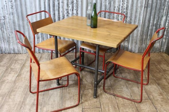 Attractive Rustic Cafe Tables And Chairs Shapeyourminds