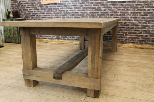 OAK FARMERS TABLE DINING TABLE | Peppermill Interiors