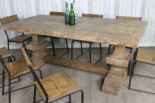 Disc - Pine Canterbury Table - 2.5m