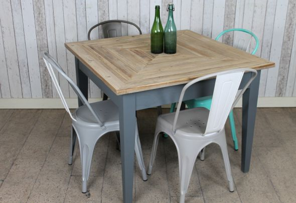 Griffin Reclaimed Wood Dining Table Pine Pottery Barn. Reclaimed Pine Cafe Table  Rustic Peppermill Interiors