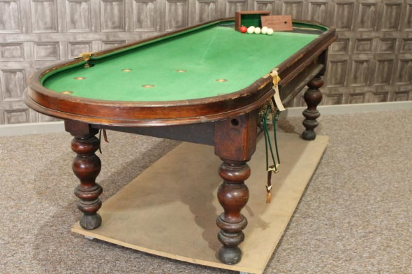 Victorian Mahogany Bagatelle Table