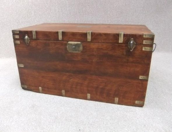 Victorian military campaign chest